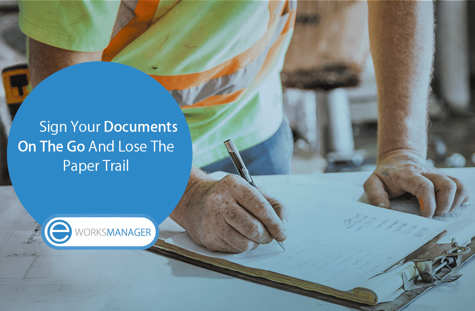 Sign you documents on the go