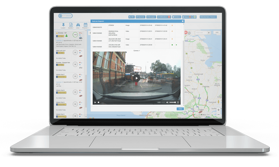 Dashcam Software and Video Telematics for Fleet Management