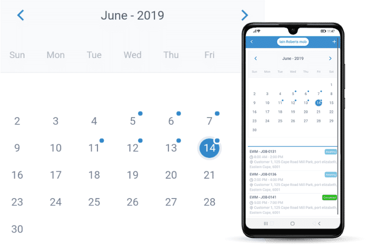 Staff Scheduling Software - Schedule jobs with ease