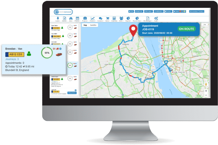 Facility Maintenance Software - Track your workers in the field