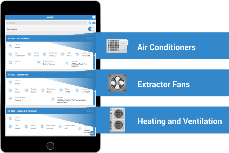 HVAC Software - Asset Management