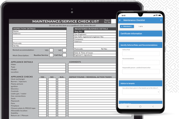 Gas Engineer Software - Digitise your certificates and documents