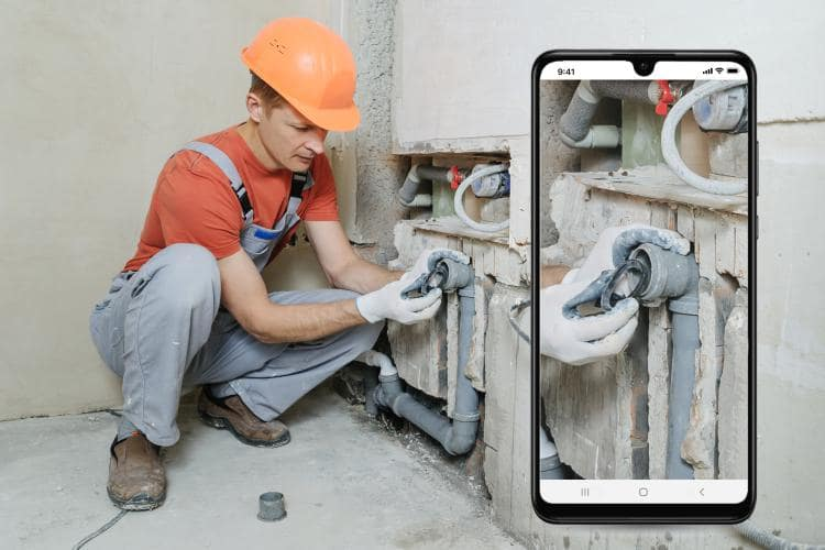 Gas Engineer Software - Take photos - keep a record of on-site problems