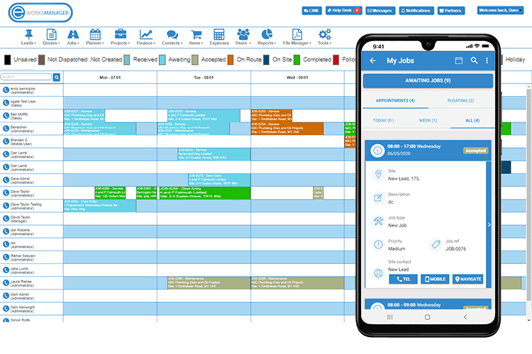 Staff Scheduling App - Conflict free scheduling