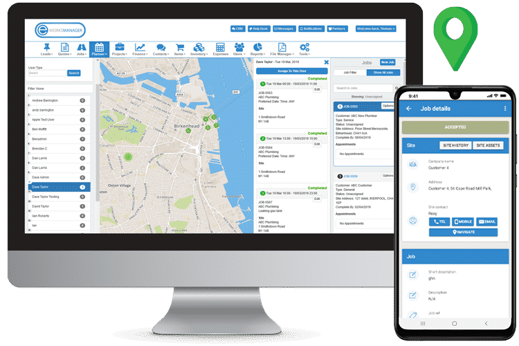 geo route planner software