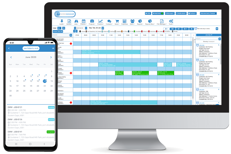 Staff Scheduling App - Book time off