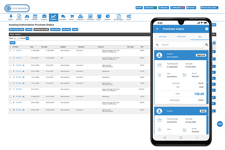 Purchase Order App - Manage Suppliers and Monitor Their Pricing