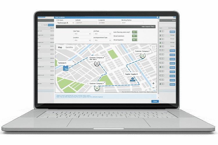 Route Optimisation Software - Auto Planning