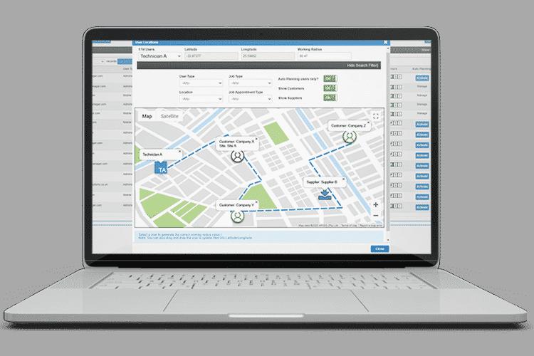 Route Optimisation Software - Auto Planning
