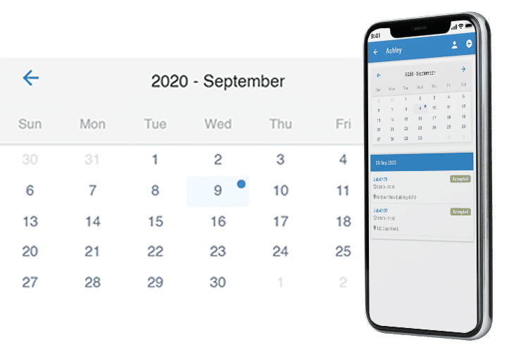 Mobile Workforce Scheduling - Schedule jobs with ease