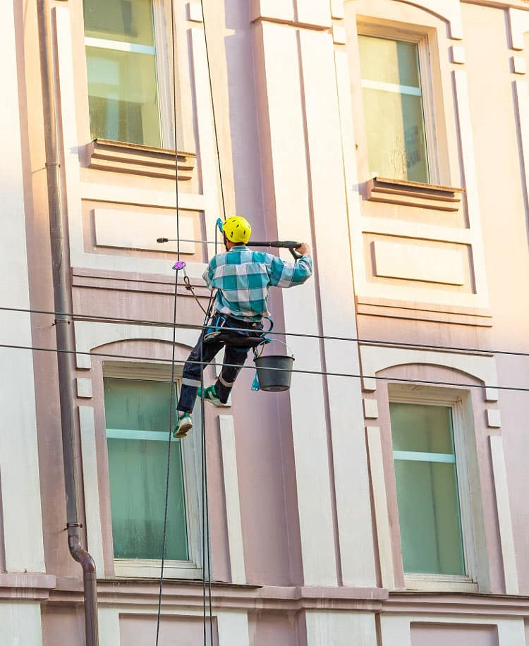Property Maintenance Services - Window Cleaner